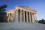 View of Jefferson Memorial at Dawn, Washington DC, USA Photographic Print by  Jaynes Gallery