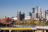 Skyline from the University of Minnesota, Minneapolis, Minnesota, USA Photographic Print by Walter Bibikow
