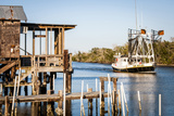 Shrimp Boat, Cocodrie, Terrebonne Parish, Louisiana, USA Photographic Print by Alison Jones