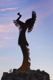 Keeper of the Plains Statue, Wichita, Kansas, USA Photographic Print by Walter Bibikow