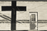 Old Church Building, Hydro, Oklahoma, USA Photographic Print by Walter Bibikow