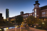 Entertainment District, Bricktown, Oklahoma City, Oklahoma, USA Photographic Print by Walter Bibikow