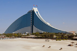 Jumeirah Beach Hotel, Dubai, United Arab Emirates Photographic Print by Bill Bachmann