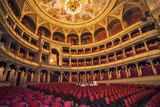 Opera House Auditorium, Budapest, Hungary Photographic Print by Jim Engelbrecht