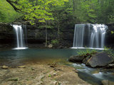 Cascades, Ozark National Forest Arkansas, USA Photographic Print by Charles Gurche