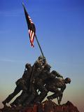 Iwo Jima Memorial, Washington DC, USA Fotodruck von Walter Bibikow