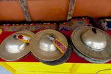 Brass Cymbals at Hemis Monastery, Ladakh, India Photographic Print by Ellen Clark