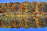 Lake Jacomo Fall Colors, Fleming Park, Kansas City, Missouri, USA Photographic Print by Charles Gurche