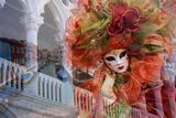 Jaynes Gallery - Elaborate Costumes for Carnival Festival, Venice, Italy - Fotografik Baskı