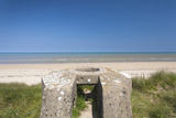Ruins of German Bunkers, Sainte Marie Du Mont, Normandy, France Photographic Print by Walter Bibikow
