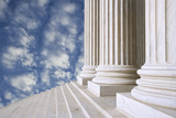 Entrance of the U.S. Supreme Court Building, Washington DC, USA Photographic Print by  Jaynes Gallery