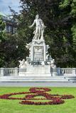 Mozart Statue, Vienna, Austria Photographic Print by Jim Engelbrecht