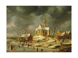 The Village of Midlum Giclee Print by Jan Abrahamsz. Beerstraten