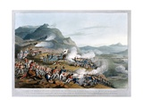 A View of the Sierra De Busaco at St. Antonio De Cantaro, Showing the Attack by Marshal… Giclee Print by Thomas Staunton St. Clair