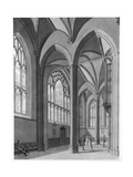 New College Ante-Chapel, 1803 Giclee Print by Thomas Malton Jnr.