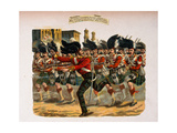 Lieutenant Herbert T. Macpherson Charging Up a Street in Lucknow at the Head of the 78th… Giclee Print by Henry A. Payne