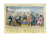 """The Mathew-Orama for 1824"", Pub. by G. Humphrey, 1824 Giclee Print by I. Robert & George Cruikshank"