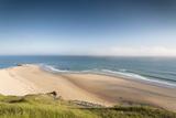 View of Cap De Carteret Beach, Barneville-Carteret, Normandy, France Photographic Print by Walter Bibikow