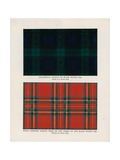 "42nd Royal Highlanders ""The Black Watch"". Regimental Tartans Giclee Print by Henry A. Payne"