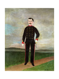 Marshal Des Logis Frumence-Biche of the 35th Artillery, C.1893 Giclee Print by Henri J.F. Rousseau
