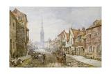 Castle Street, Salisbury Giclee Print by Louise J. Rayner