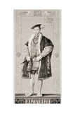 Edward VI (1537-53) from 'Illustrations of English and Scottish History' Volume I Giclee Print by J.l. Williams