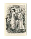 Mademoiselle De Mersac Giclee Print by George L. Du Maurier
