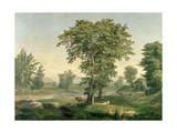 Landscape, 1846 Giclee Print by George Snr. Inness