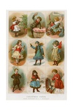 Christmas Cards Giclee Print by Charles J. Staniland