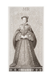 Queen Mary (1516-58) from 'Illustrations of English and Scottish History' Volume I Giclee Print by J.l. Williams