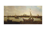 View of Haarlem from the North Giclee Print by Hendrick Cornelisz. Vroom