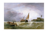 The River Texel Giclee Print by Clarkson R.A. Stanfield