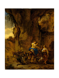 The Country Farrier, Early 1660s Giclee Print by Nicolaes Pietersz. Berchem