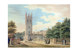 Magdalen College Giclee Print by Thomas Malton Jnr.