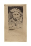 Rembrandt 1645 Self Portarit in the Collection of Mariette Giclee Print by Rembrandt Harmensz. van Rijn