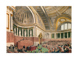 The Senate Chamber at the Luxembourg Palace, Paris Giclee Print by A. Prevost