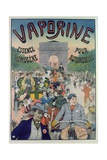 Poster Advertising the Petrol Oil 'Vaporine' Giclee Print by E. Le Mouel