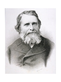 Portrait of John Ruskin (1819-1900) Giclee Print by C. Laurie
