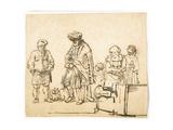 Good Samaritan Giclee Print by Rembrandt Harmensz. van Rijn