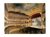 Royal Circus from Ackermann's 'Repository of Arts', 1809 Giclee Print by T. & Pugin Rowlandson