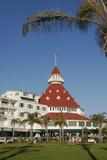 Hotel Del Coronado, Coronado, San Diego, California, USA Photographic Print by Peter Bennett