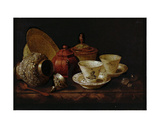 Still Life with Tea Cups Giclee Print by Pieter Gerritsz. van Roestraten