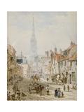 St Ann Street, Salisbury Giclee Print by Louise J. Rayner