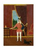 Le Petit Chevalier (Don Juan) C.1880 Giclee Print by Henri J.F. Rousseau