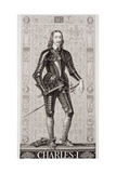 Charles I (1600-49) from 'Illustrations of English and Scottish History' Volume I Giclee Print by J.l. Williams