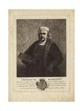 Rembrandt, Self Portrait of the Dutch Painter and Etcher Giclee Print by Rembrandt Harmensz. van Rijn