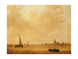 View of the Old Maas, Dordrecht Giclee Print by Jan Josephsz. Van Goyen