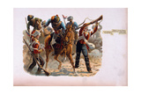 Sergeant Richard Wadeson, 75th Regiment, Coming Bravely to the Rescue of Private Michael Farrell… Giclee Print by Henry A. Payne