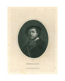 Rembrandt, 1826 Giclee Print by J. Pass