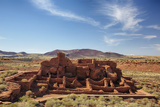 Wukoki Pueblo, Wuptaki National Monument, Arizona, USA Photographic Print by Jamie & Judy Wild